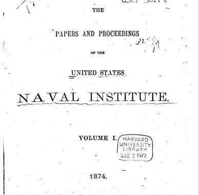 proceedings-first-issue