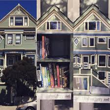 Maching house Little Free Library