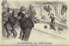 Suffragette that knew jiu-jitsu