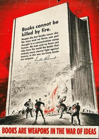 Books can not be killed by fire.