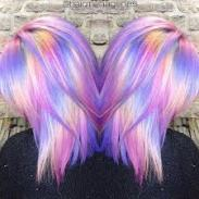 dyed twin heads