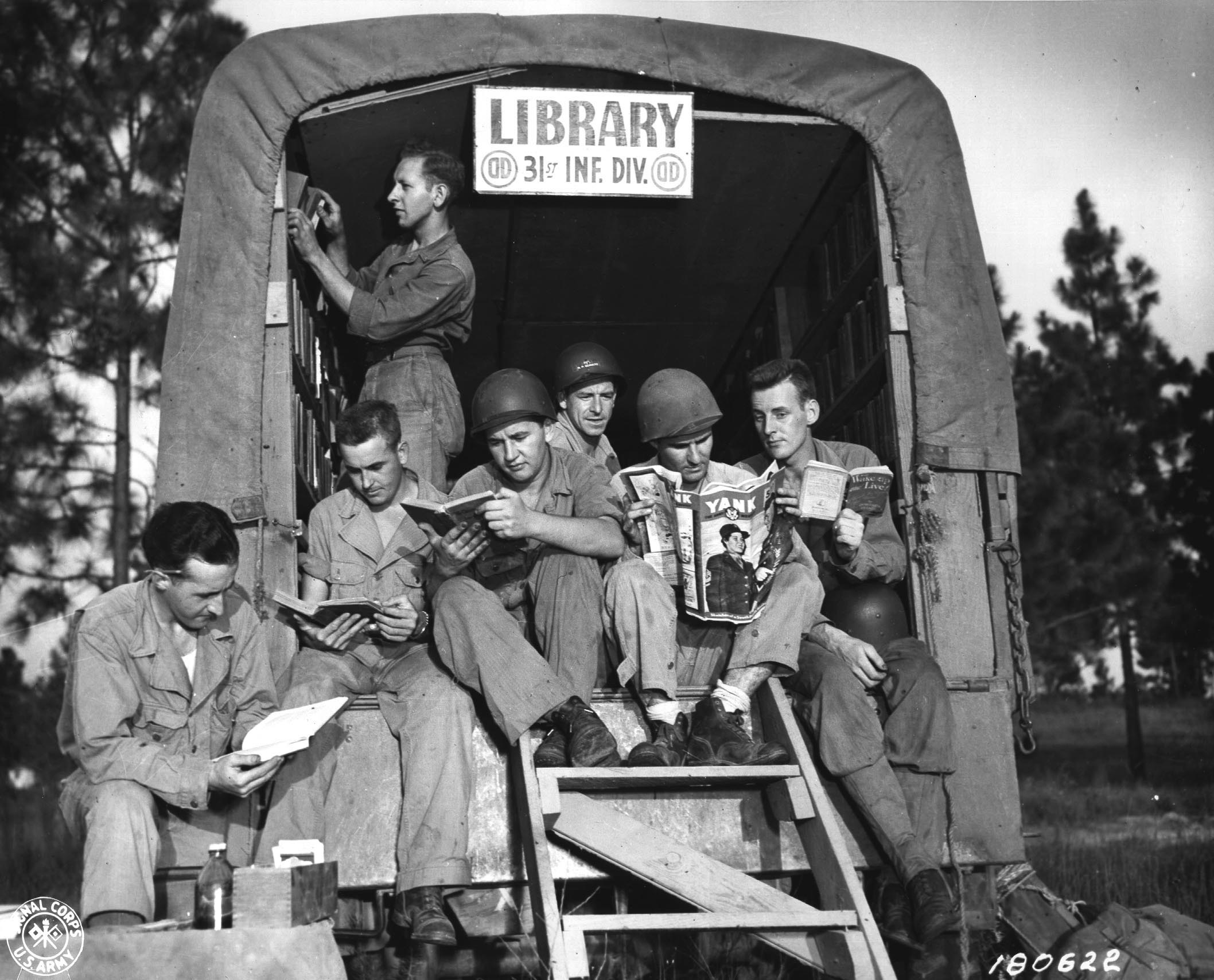 Library 31 Infantry Division