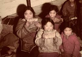 chewing--chinese kids