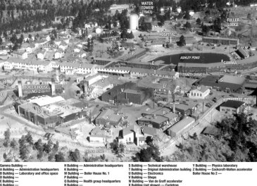 Los Alamos overhead photo