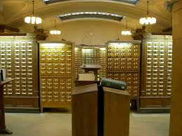 card catalog various