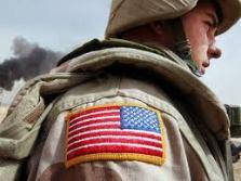 flag uniform patch