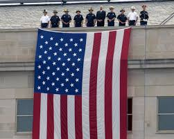 American Flag on the Pentagon