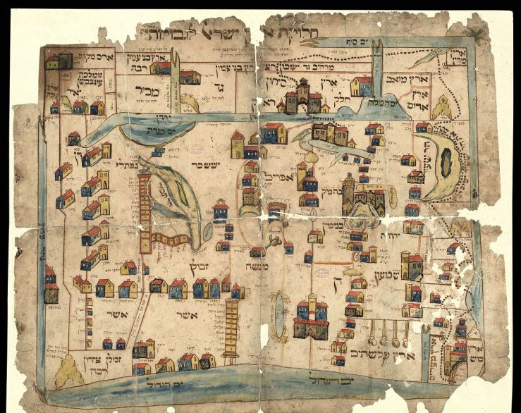 The_National_Library_of_Israel_-_Vilna_Gaon_Map