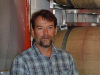 Jeff in the cellar of Glen Manor.JPG