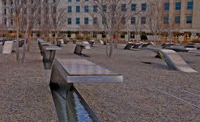 Pentagon-9-11 benches
