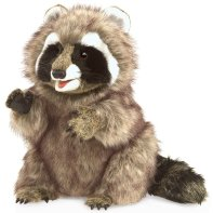 racoon puppet