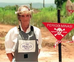 princes di and landmines