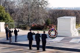 wreathlaying Arlington Cemetery