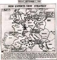 World War II map'