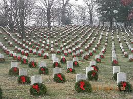 Wreaths Across America --Arlington