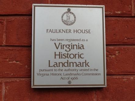 MIller Center Faulkner House Marker.JPG
