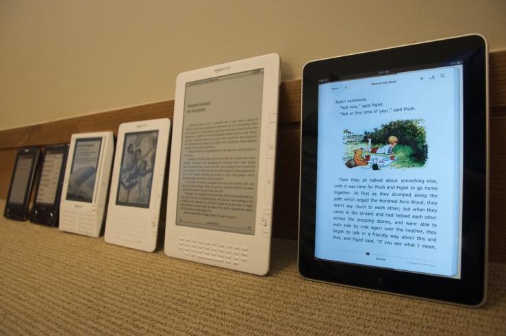 Ebook readers evolution