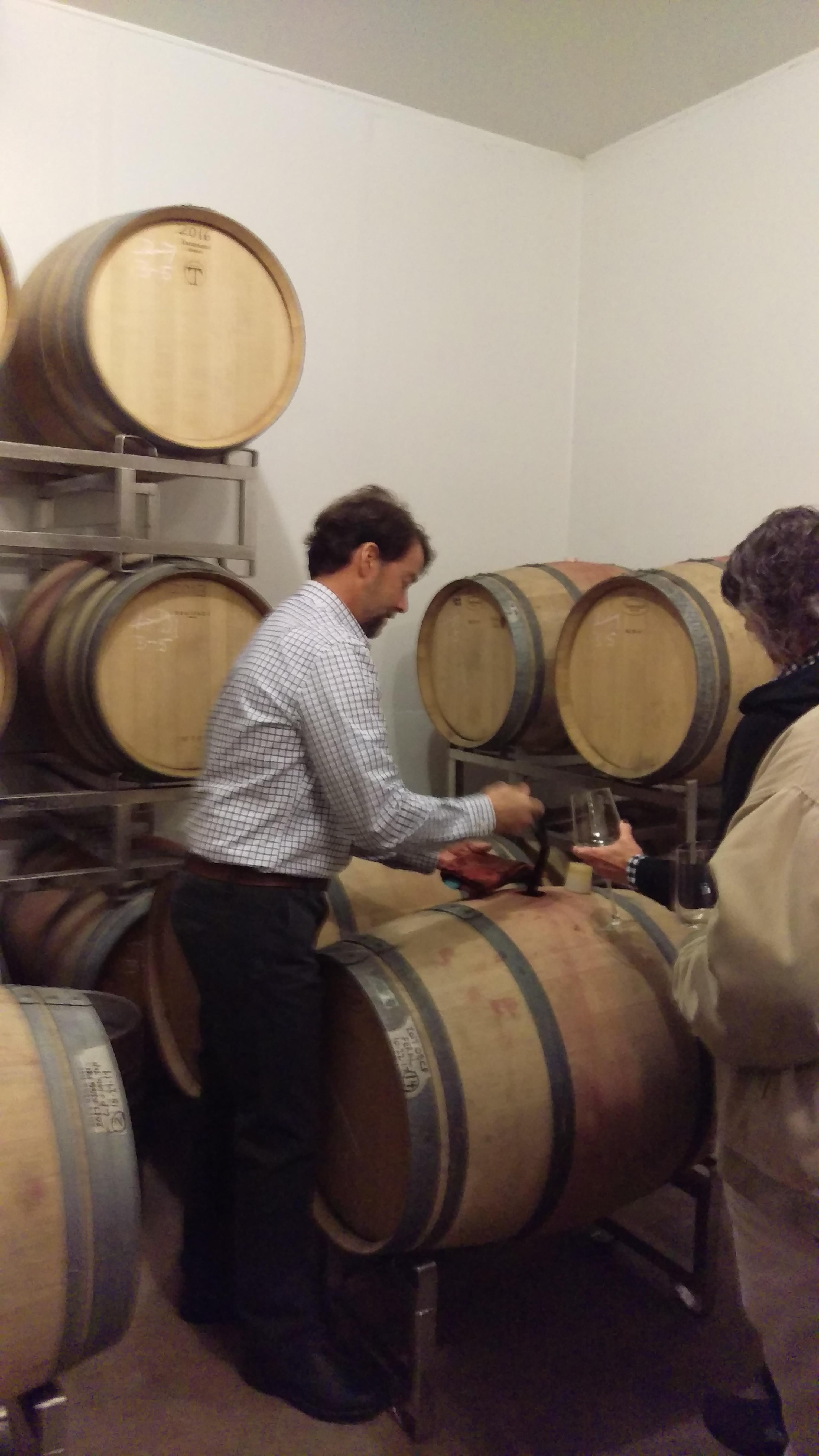 Jeff getting wine for a barrel taster.jpg