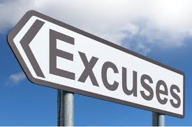 excuses--sign