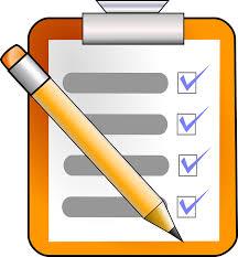 writer checklist