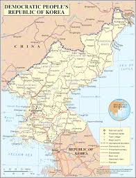North Korean map
