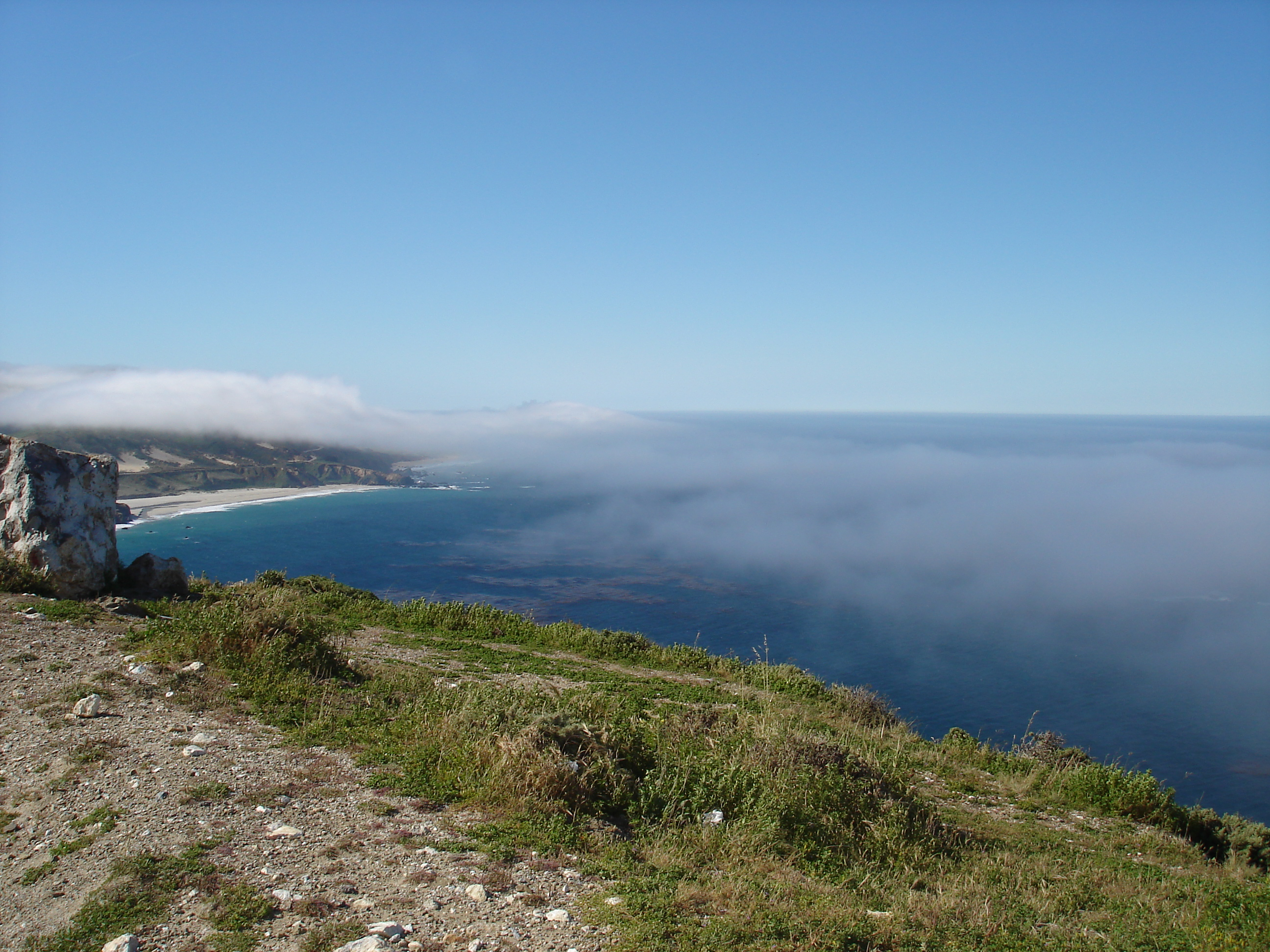 Fog coming in Pt Sur