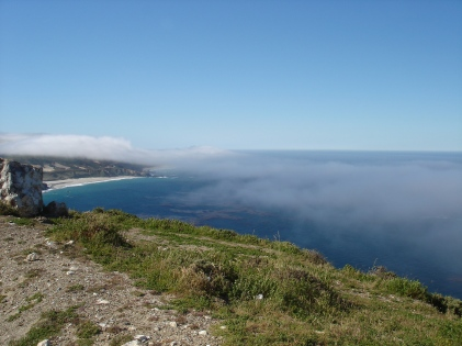 Fog coming in Pt Sur