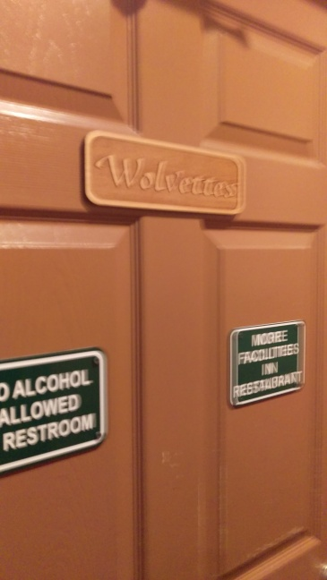 Bathroom Signs--wolvettes