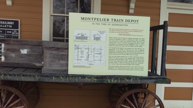 bathroom--montepelier trainin depot during segregation