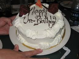 happy unbirthay cake
