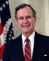 GHW Bush as president