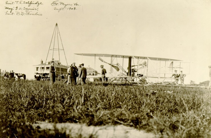 1908 Group with Flyer