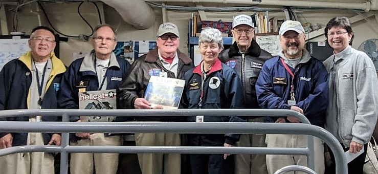 Scuttlebutt Editorial Staff-Ed Wong, John Bing, Carl Snow, Martha Lepore, Hal Simmons, Don Senda, Bonnie Brown ,misisng Phil Eakin