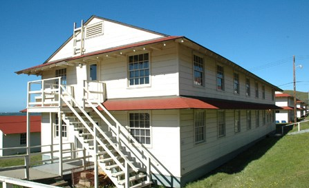 WWII enlisted barracks constructed at Ft Cronkite