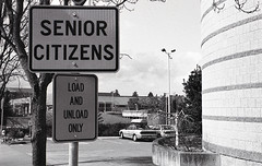 Senior Citizens Unload Here
