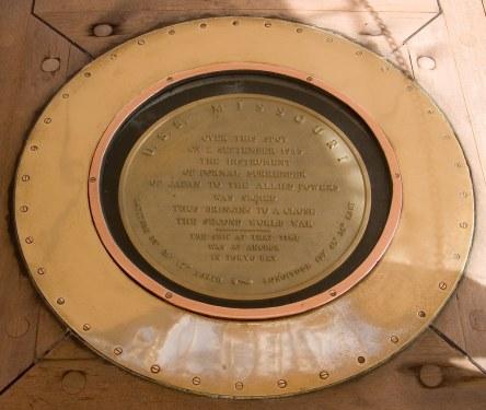 USS Missouri treaty signing