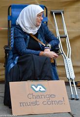 Veteran--Change must come.