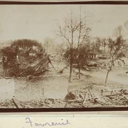 World War I destructiion