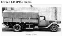 Citroen T45 trucks