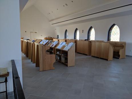 OLA Monastery where the Nuns sit