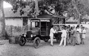 Bookmobile -old school