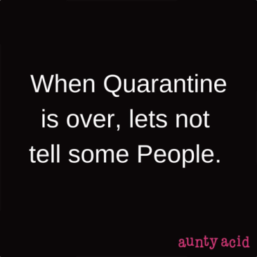 corona virus-quarantine over
