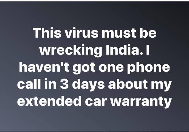 Corona Virus--Spam Phone Calls