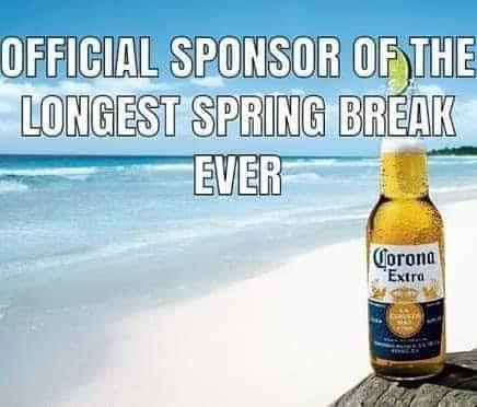 corona virus--spring break