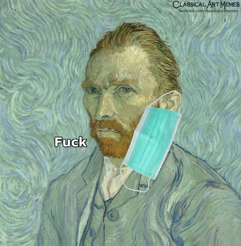 Corona Virus--Vincent Van Gogh