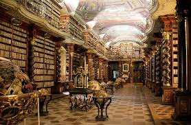 Klementinum Library in Prague