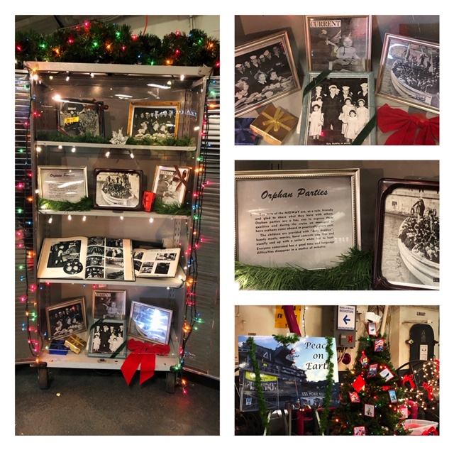 Lisa's Display of Midway history with children