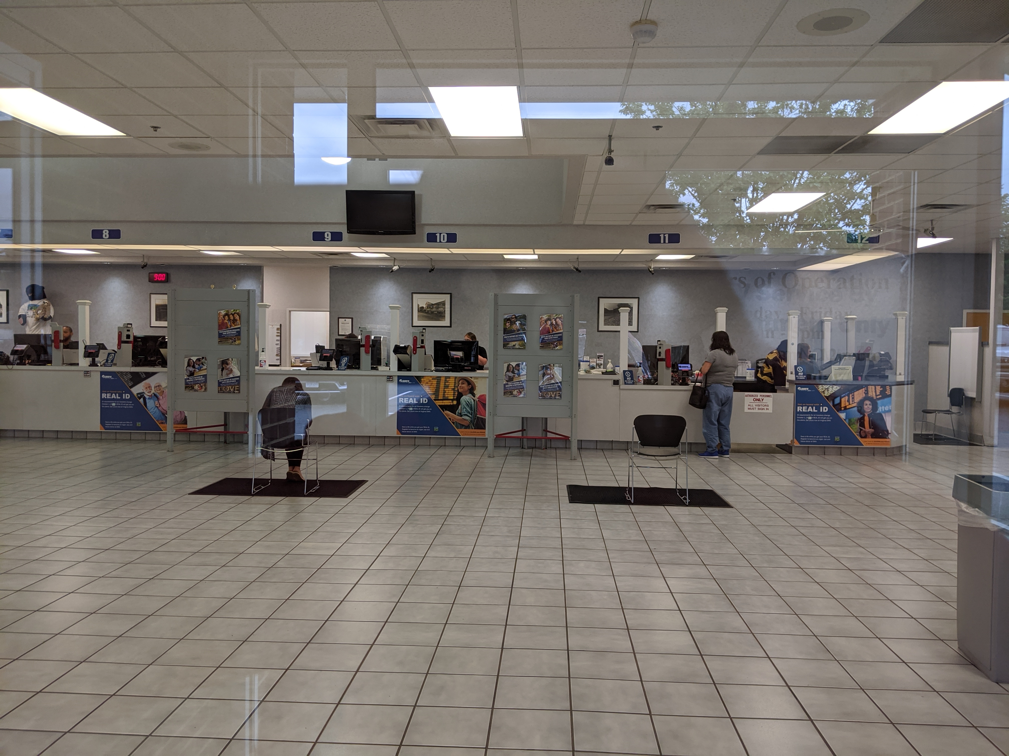 DMV by appointment and with Coronavirus social restrictions