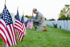 Flag Planting at Arlington Cemetary