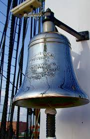 ship's bell--USS Constitution